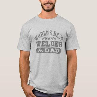 De de Beste Lasser en Papa van de wereld T Shirt