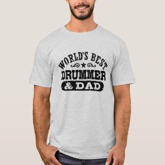 De de Beste Slagwerker en Papa van de wereld T Shirt