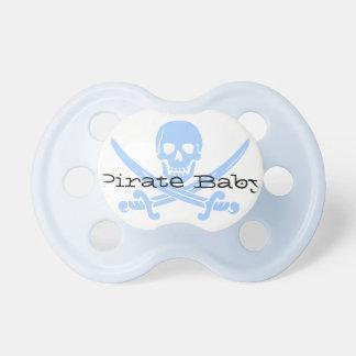 De de blauwe Schedel van de Piraat & Fopspeen van