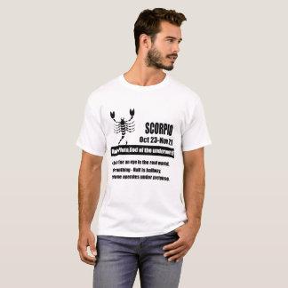de de dierenriemastrologie van Schorpioen T Shirt