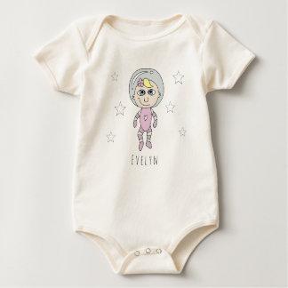 De de feministische Krabbel en Naam van de Droom Baby Shirt