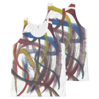 De de geschilderde Overhemden en T - shirts van de