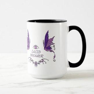 De de heldere het Dromen Mok/Kop van de Koffie Mok