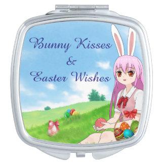 (De de Klantgerichte) Kussen van het konijntje & Reisspiegeltje