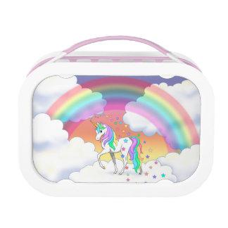 De de kleurrijke Eenhoorn en Sterren van de Lunchbox