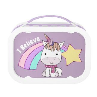 De de leuke Eenhoorn en Regenboog van het Baby van Lunchbox