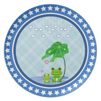 De de leuke Regen & Kikkers van het Hart van de Bord