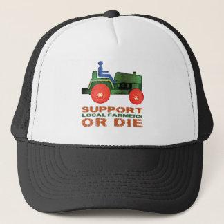 De de Lokale Landbouwers of Matrijs van de steun Trucker Pet