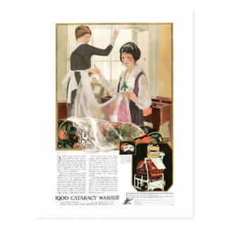 De de nieuwe Moeder en Dochter van de Wasmachine Briefkaart