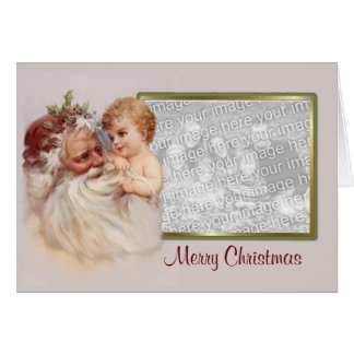 De de oude Kerstman & Cherubijn van de Wereld - Kaart