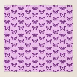 De de paarse schets, orchidee & het amethist van sjaal
