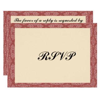 De de rode Bar mitswa van het Lijst van 8,9x12,7 Uitnodiging Kaart