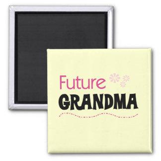 De de toekomstige T-shirts en Giften van de Oma Magneet