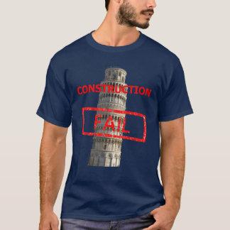 De de torenbouw van Pisa ontbreekt T Shirt