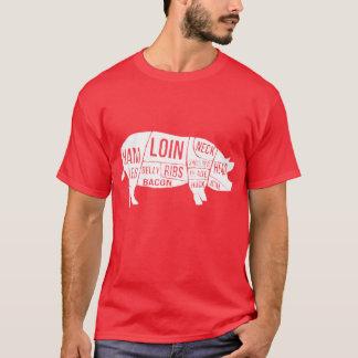 De de verontruste Delen en Besnoeiingen van het T Shirt