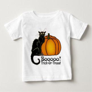 De de Zwarte Kat & Pompoen van Neouvou van de Baby T Shirts