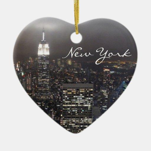 De decoratie van de herinnering van new york van kerstboom ornamenten zazzle - Decoratie van de kamers van de meiden ...