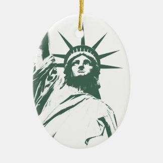 De Decoratie van de Herinnering van New York van h Kerstboom Ornament