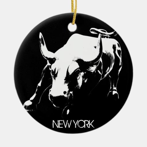 De Decoratie van de Herinnering van New York van h Kerst Ornament