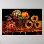 De Decoratie van Halloween Poster