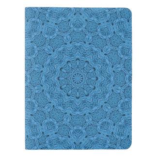 De decoratieve Blauwe Dekking van het Extra Groot Moleskine Notitieboekje