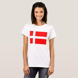 De Deense T-shirt van de Vlag