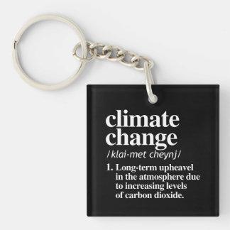De Definitie van de Verandering van het klimaat - Sleutelhanger