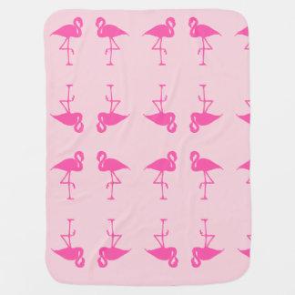 De Deken van de flamingo Inbakerdoek