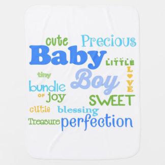 De Deken van de Jongen van het baby Babydoek