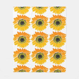 De deken van de zonnebloem