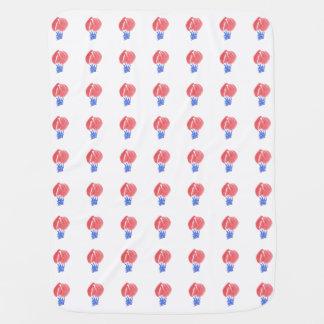 De Deken van het Baby van de Ballons van de lucht Inbakerdoek
