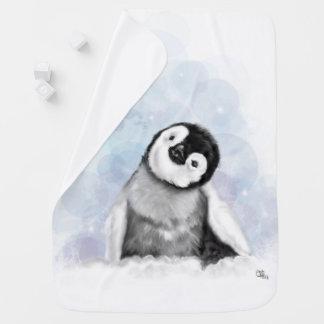 De Deken van het Baby van de Pinguïn van het baby Inbakerdoek