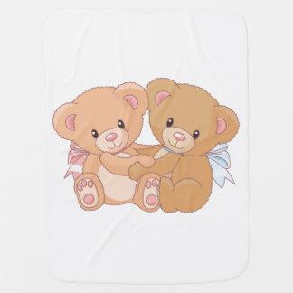 De Deken van het Baby van teddyberen Inbakerdoek