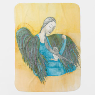 De deken van het de duifbaby van de engel inbakerdoek