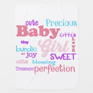 De Deken van het Meisje van het baby Baby Dekentjes