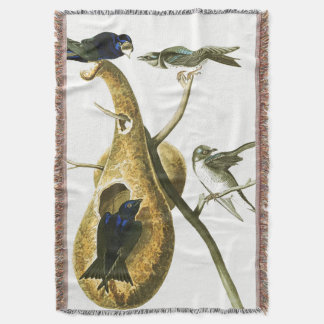 De Deken van Martin Birds Wildlife Animal Throw