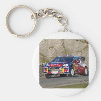 De Dekking van de Auto van de Verzameling WRC Sleutelhanger
