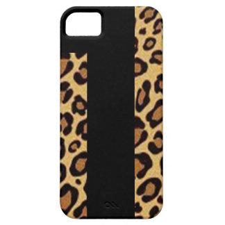 De Dekking van de Druk van de jachtluipaard Barely There iPhone 5 Hoesje