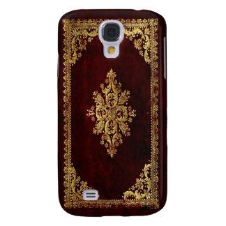De dekking van de telefoon - Antiek Boek - Galaxy S4 Hoesje