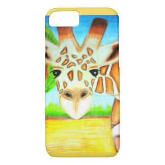 De Dekking van de Telefoon van de giraf iPhone 7 Hoesje