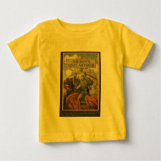 De Dekking van het Boek van Arthur van de Koning Baby T Shirts