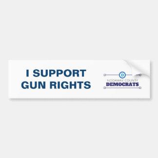 De democraten steunen de Sticker van de Bumper van
