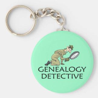 De Detective van de genealogie Sleutelhanger