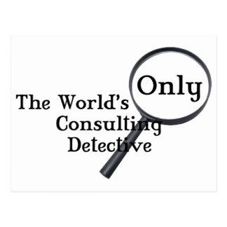 De Detective van Sherlock Briefkaart