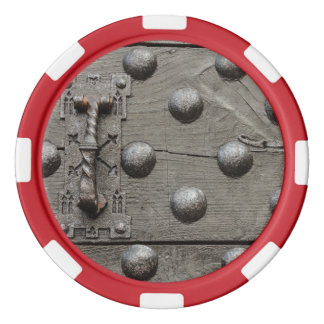 de deur van de Spaanders van een kasteelPook