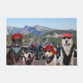 De Deurmat van de Honden van de fietser