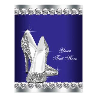 De Diamant van koningsblauwen schittert de Hoge Flyer