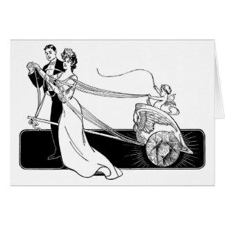 De Diamanten van het huwelijk op Gehuwd Krediet Briefkaarten 0
