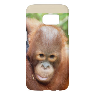 De Dieren van Borneo van de Orangoetan van Karbank Samsung Galaxy S7 Hoesje