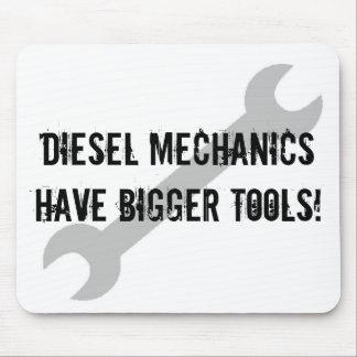 De diesel Werktuigkundigen hebben Grotere Hulpmidd Muismat